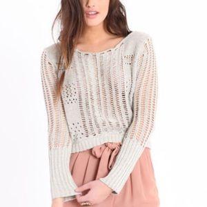 FreePeople Bundle*  Caldra Layer Sweater & VS Cami